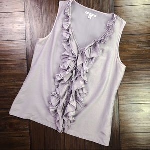 Banana Republic Ruffled Tank